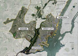 Northeastern NJ Region Map