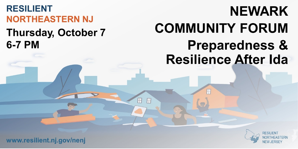 Learning from Ida: Experiences in Newark – what we heard at the community forum